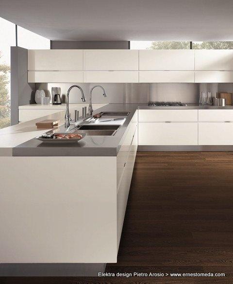 Elektra Design Pietro Arosio · Kleine KüchenArbeitsplattenFarbpaletten Moderne ...