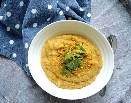 The Little Melbourne Kitchen | Potato, Leek and Chickpea Soup with Dukkah