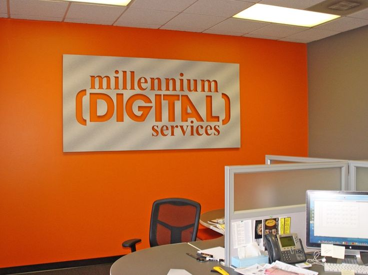 Foyer Office Quotes : Dimentional signs laser cut acrylic letters and logos