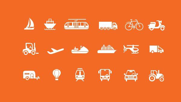 18 Travel Icons