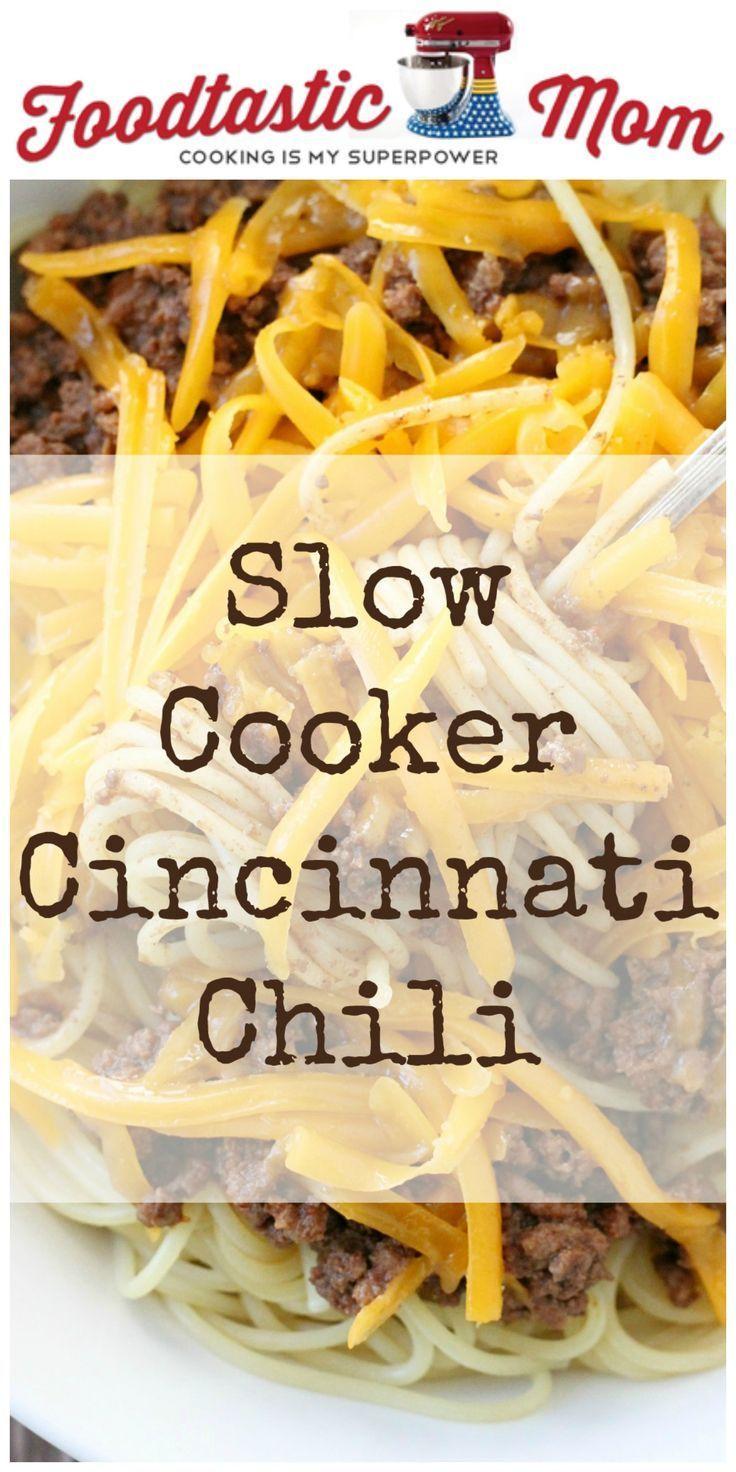 Slow Cooker Cincinnati Chili by Foodtastic Mom #ohiobeef #ad