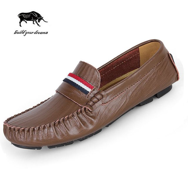 Fair price High Quality Slip On Genuine Leather Men Flats Men Loafers Shoes, big Size Men Driving Shoes Mocassin Shoes For Men just only $65.76 - 71.76 with free shipping worldwide  #menshoes Plese click on picture to see our special price for you