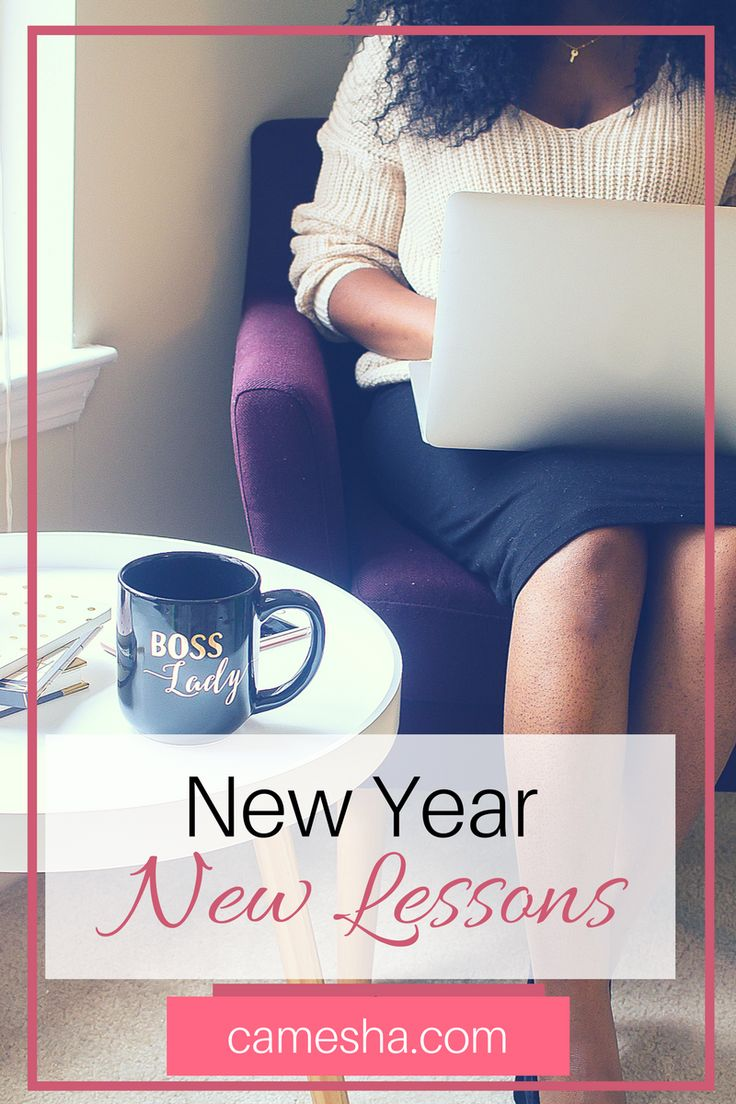 For the New Year I'm not setting resolutions or choosing a word this year. I'm focusing on my goals this year by looking backwards.https://www.camesha.com/blog/new-year-goals-new-lessons/
