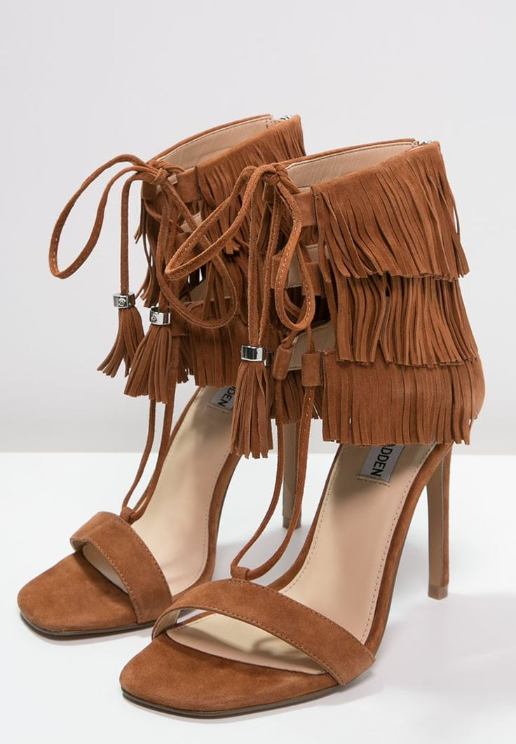 Steve Madden SHAY - Sandals - cognac for with free delivery at Zalando