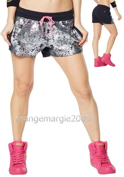 ZUMBA STREET BOSS High Top Shoes Trainers Limited Edition Pink + Shinin' Shorts! #ZUMBAZumbaZumbaFitness #HighTopDanceHipHopSalsa