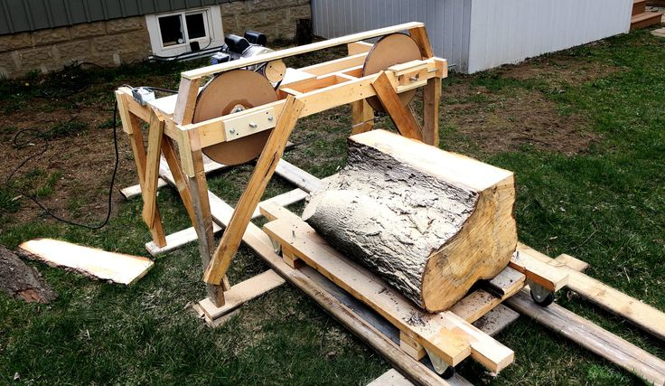 Using The Quick And Dirty Band Saw Mill