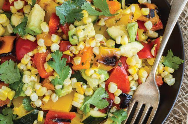 Recette de salade grillée des longues fins de semaine | Métro