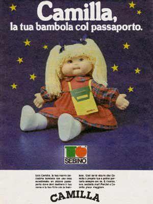 Camilla. La bambola col passaporto e i capelli in lana. Io conservo ancora la sua versione più piccola, Camilla-milla ^_^