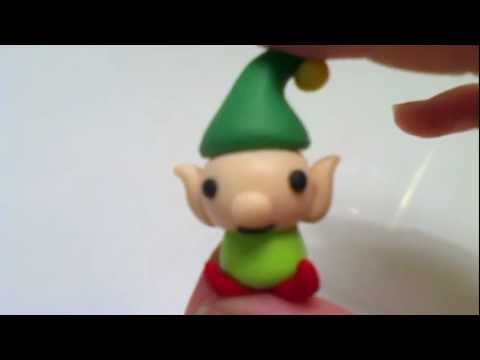 Christmas Clay Tutorial: Elf   Cute video from a very young sounding artist :-)