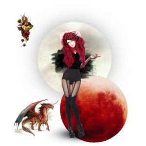 Daughter of the bloodred full moon