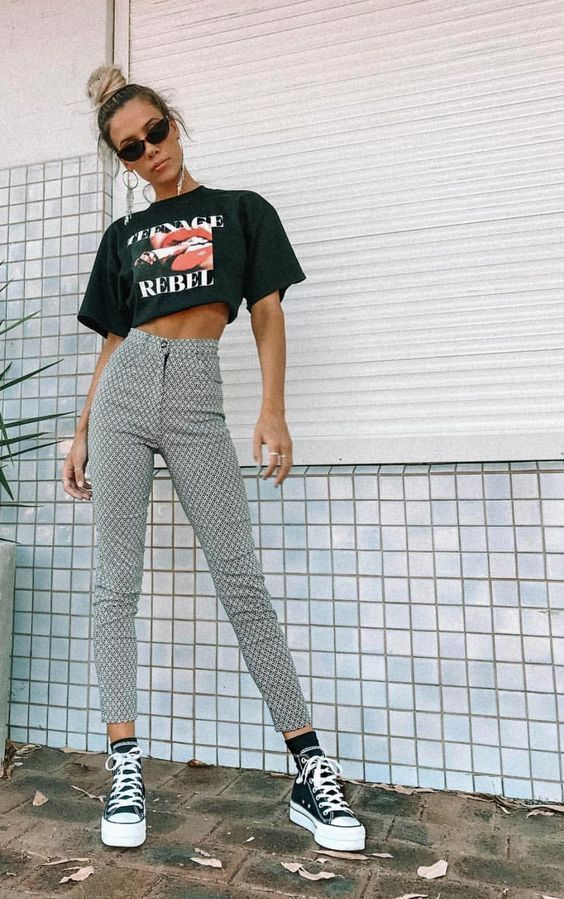 30 Each day Outfits That Will Make You Look Nice #outfits #style #pants #fashion
