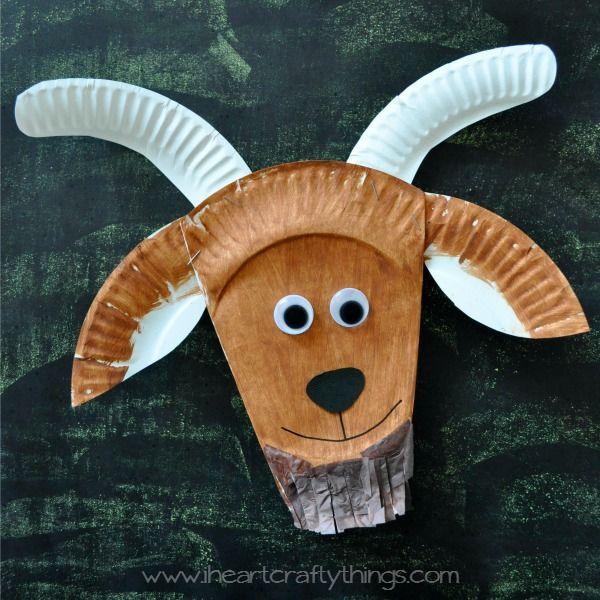 I HEART CRAFTY THINGS: Three Billy Goats Gruff Craft