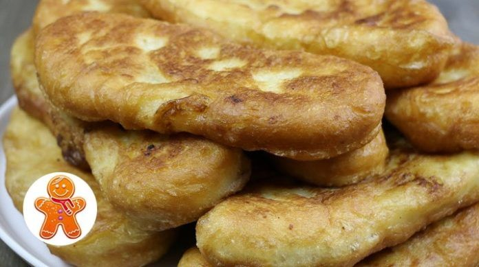 Очень вкусные жареные пирожки с картошкой