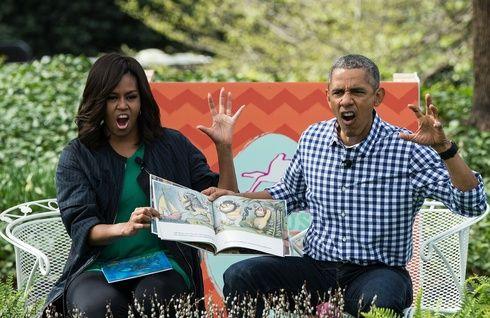 オバマ大統領夫妻が、イースターに絵本を迫真の読み聞かせ|エル・ガール・オンライン