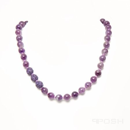 Amethyst is one of the most beloved gemstones on earth. It is believed by some that Amethyst can grant one clarity and ease your mind. Whatever you believe, you can be sure to enjoy this beautiful purple gemstone. #onselz