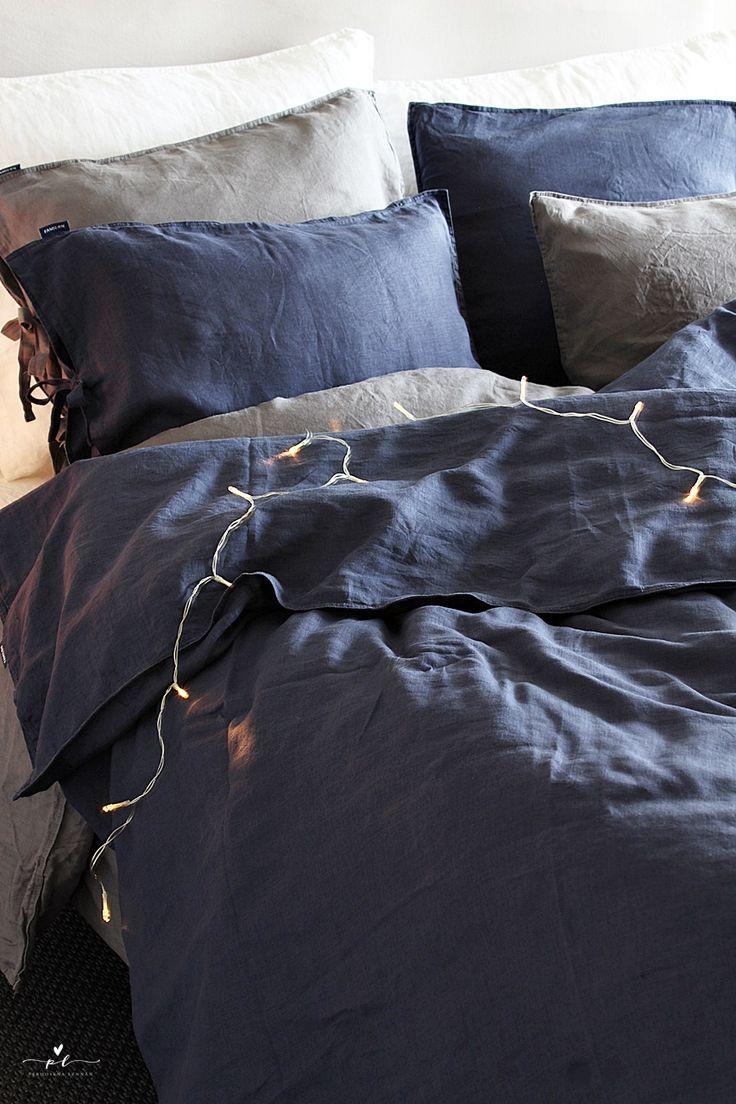 Pehmeitä unia pellavalakanoissa Familon bed linen Bedding Petaus pellavalakanat Bedroon Decor