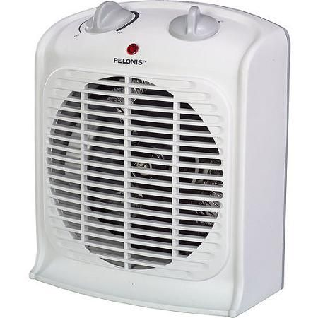 Pelonis Fan Forced Heater With Thermostat Walmart The O