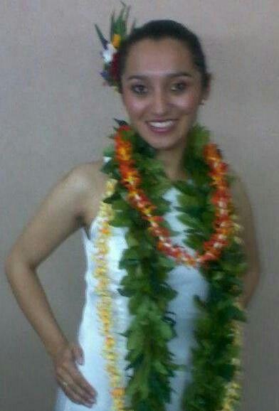 ...hawaian costume...