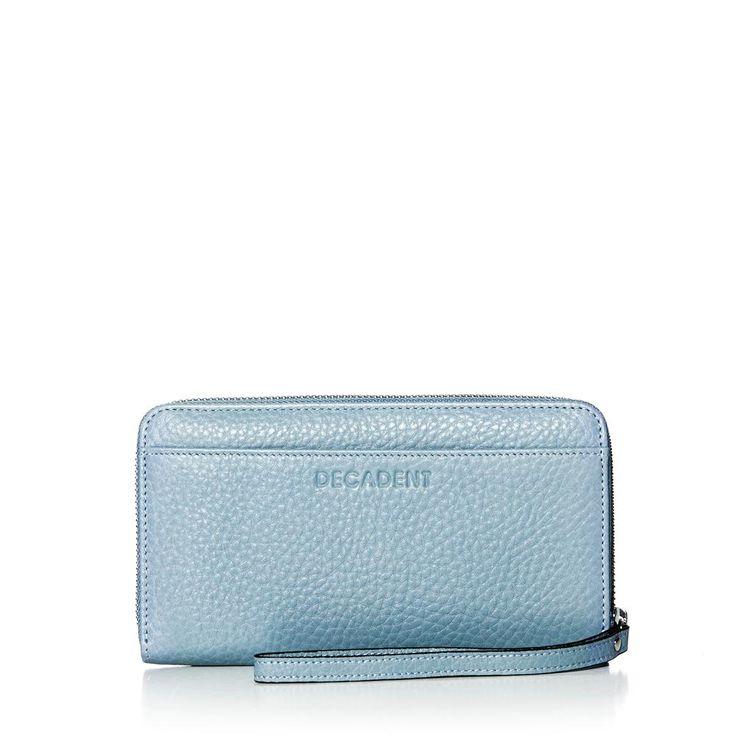DECADENT 342 Zip Wallet Dust blue
