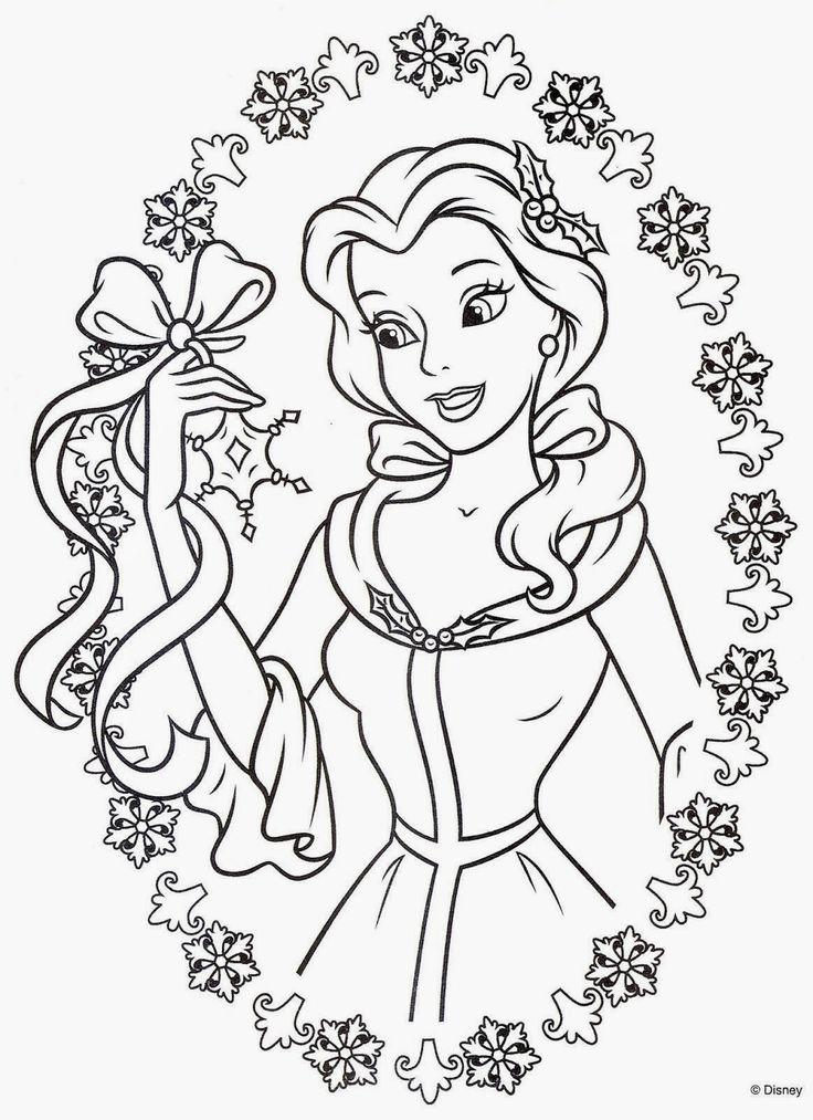 Cuentos infantiles: La Bella y la Bestia para colorear. Dibujos para ...
