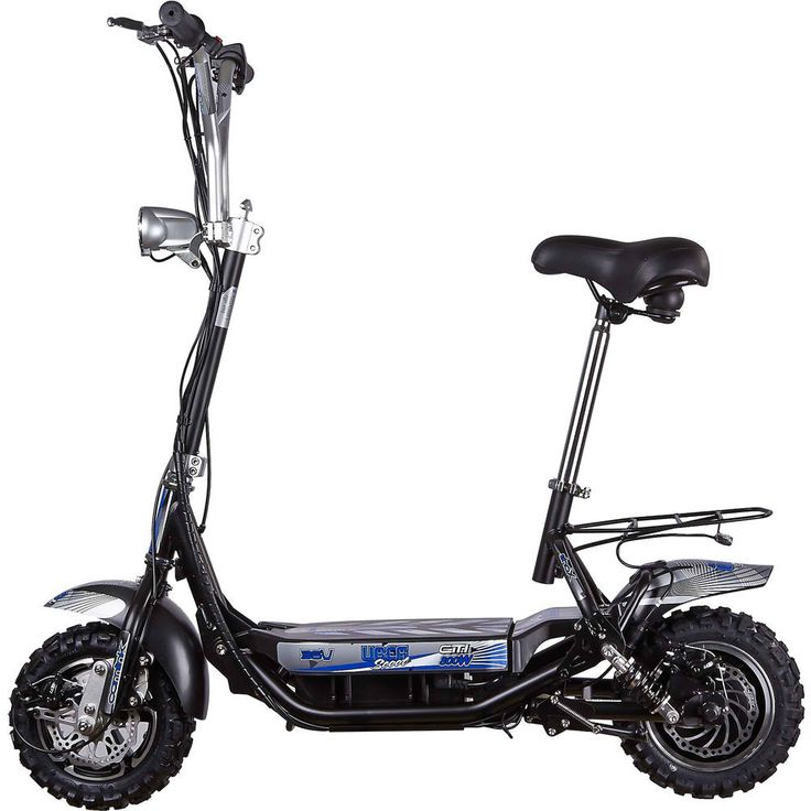 5 electric scooters with seats
