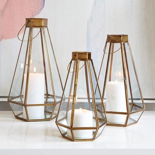 Faceted Lanterns | west elm