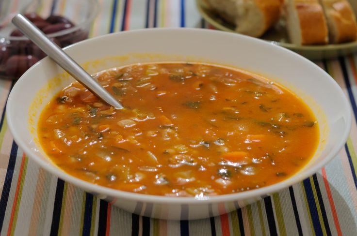Bean soup (fasolada)