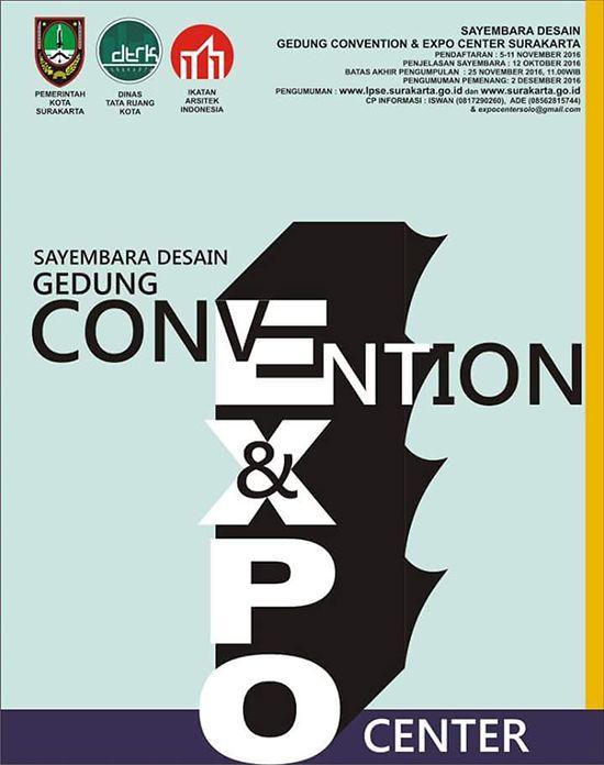 Sayembara desain gedung convention dan expo Teknologi Konstruksi
