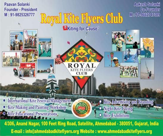 Royal Kite Flyers Club - India's Largest Kite Flying Group help you to organize Kite Flying Event and International Kite Festival at Place
