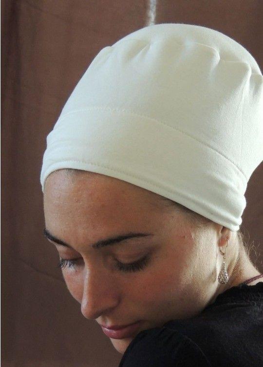 White Tichel Volumizer & Anti Slip Headband