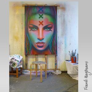 25 idee n die je leuk zult vinden over stad schilderij op pinterest - Foto van slaapkamer schilderij ...