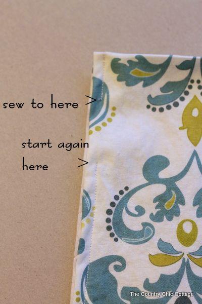 Home decor craft tutorials sewing