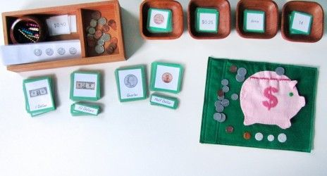 Piggy Bank Quietbook Pattern & Free Currency Printables - TONS OF IDEAS!!