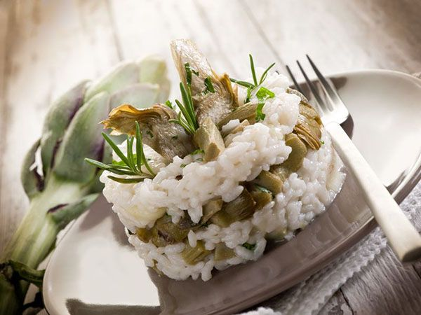 Green & Blu - RICE PILAF WITH ARTICHOKE HEARTS (from TINOS)