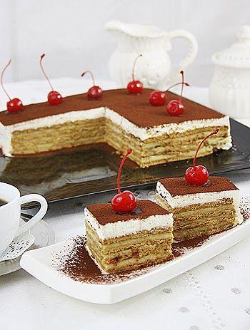 Tort de biscuiti ~ Bucatar maniac si prietenii recipe