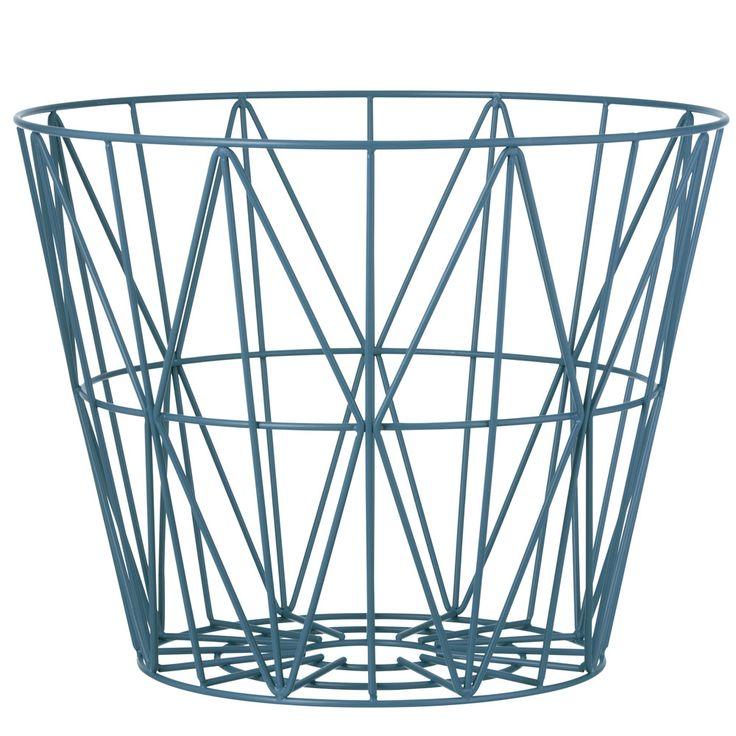 Ferm Living wire basket stor medium