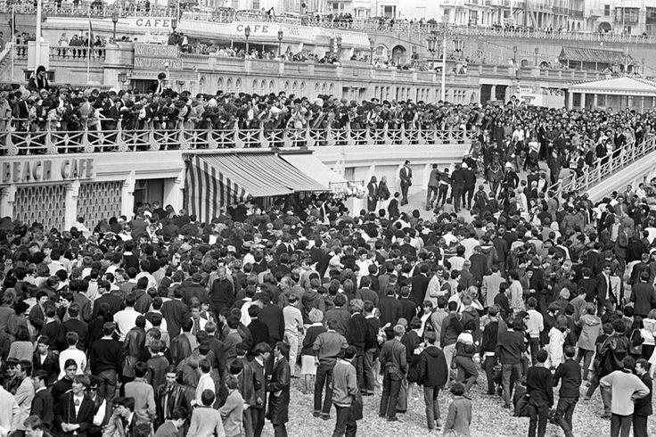Mods. Brighton 1964.