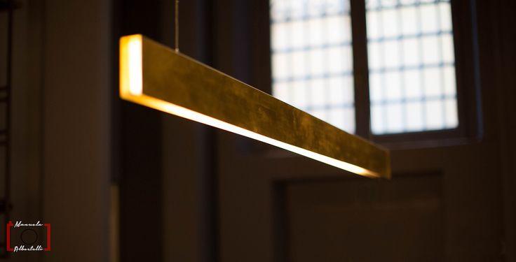 Horizontal Ceiling lamp with soft light at Baxter Cinema.  Photo is courtesy of Dennis Zoppi and Manuela Albertelli. #baxtercinema