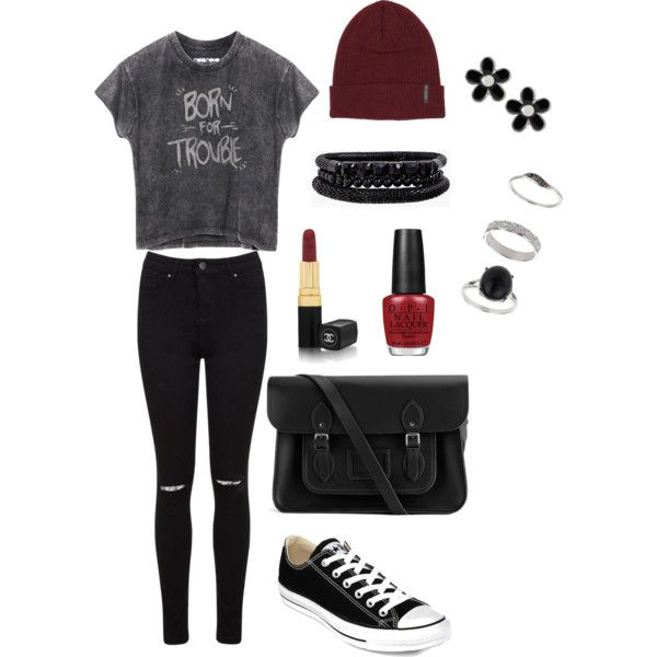 """Born for Trouble"" Outfit"