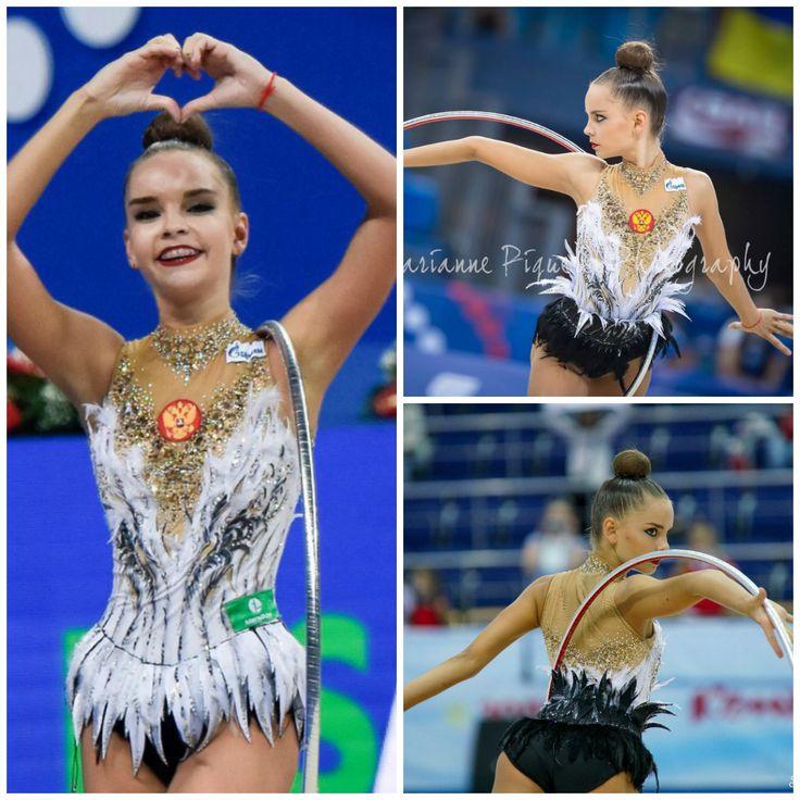 Dina Averina (Russia), hoop 2017 (photos by RGjournalism, Marianne Piquerel, )