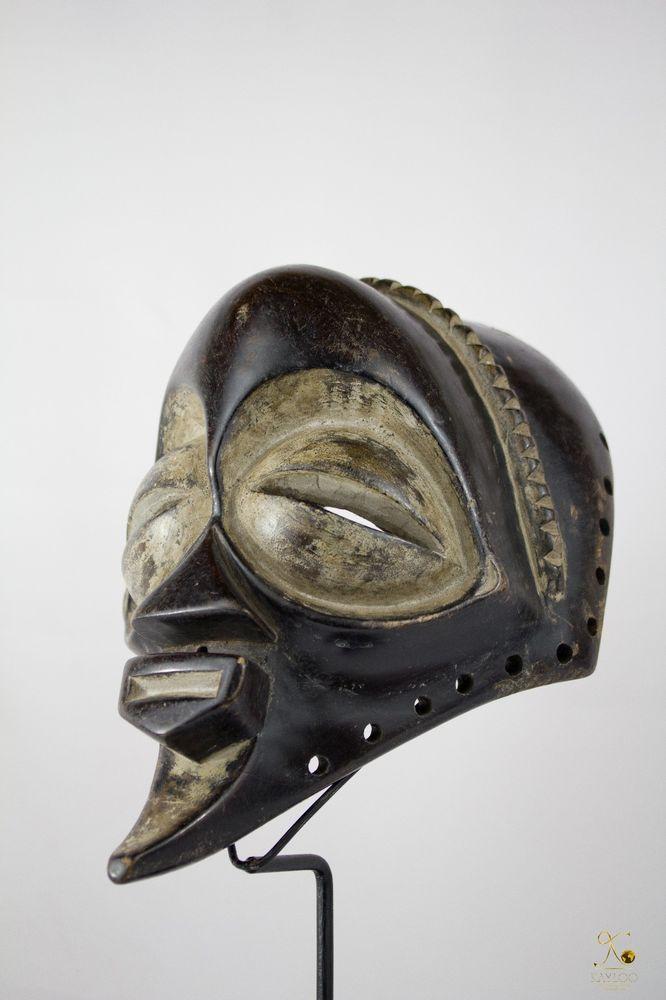 Luluwa (Lulua) African Mask-Congo DRC-Stand included