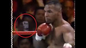 Please explain how a fan would have a Smart Phone at this 1995 Mike Tyson fight