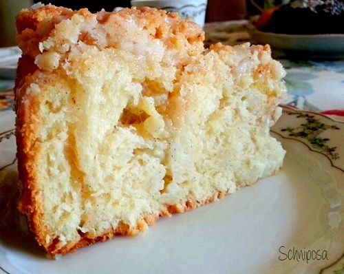 Vanille-Zimt-Zucker-Puddingschneckenkuchen mit Zimt-Vanillestreusel 2