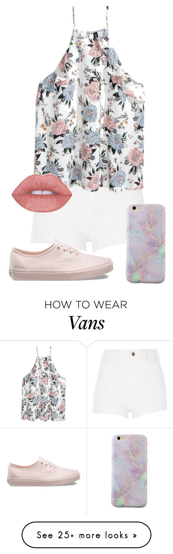 """""""spring pastels"""" by hey-there-its-kylah on Polyvore featuring River Island and Vans"""
