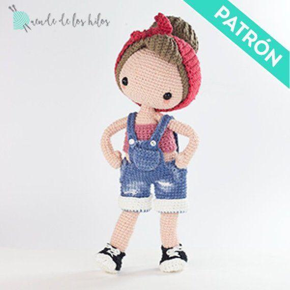 Amigurumi Pin Up Crochet Pattern. Em donpatron você pode procurar padrões de lã ...