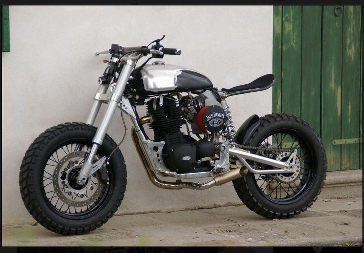 Borile B500CR Tracker Nero Opaco Motociclette Italy...