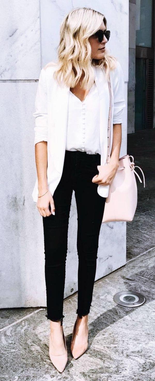 ef44ba7cc9c7b 40 einfache und sexy Arbeitskleidung für junge Frauen   Outfit Ideas ...