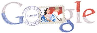 Día de la Independencia De Panama--- Google dedicates its page to our country on November 3, 2012