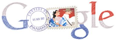 Día de la Independencia De Panama--- Google dedicates its page to our country on November 3, 2012
