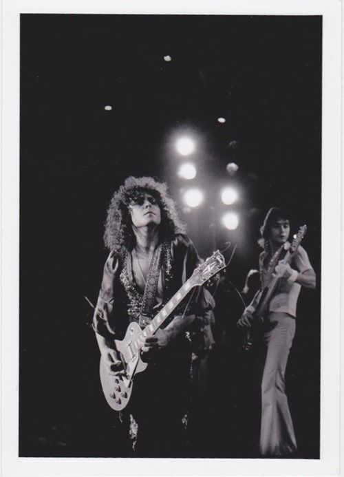 T-Rex: Marc Bolan by Jim Marshall, mid 1970s
